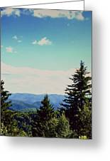 Smokey Mountains, Tn Greeting Card