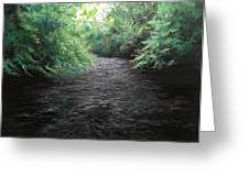Smokey River Greeting Card