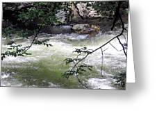 Smokey River Run Greeting Card