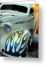 Smokin' Hot - 1938 Chevy Coupe Greeting Card