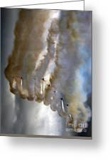 Smoking Nine Greeting Card