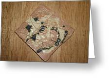 Smoky - Tile Greeting Card