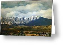 Smoky Clouds On A Thursday Greeting Card