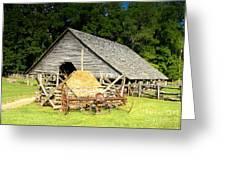 Smoky Mountain Farm Greeting Card