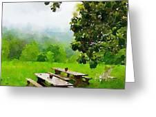 Smoky Mountain Morning Greeting Card