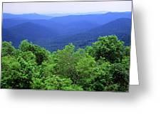 Smoky Mountain National Park Greeting Card