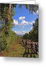 Smoky Mountain Scenery 12 Greeting Card