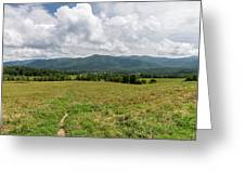 Smoky Mountains Cades Cove 1 Greeting Card