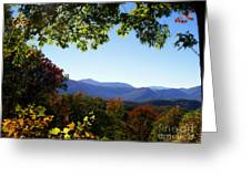 Smoky Mountains Greeting Card by Lena Auxier