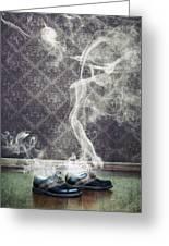 Smoky Shoes Greeting Card by Joana Kruse