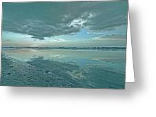 Smooth Blues Greeting Card
