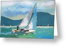Smooth Sailing Greeting Card