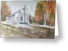 Smyth Chapel, Emory, Virginia Greeting Card