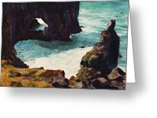 Snaefellsnes Seascape Greeting Card