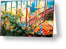Snake River Bridge Greeting Card