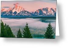 Snake River Overlook - Grand Teton National Park Greeting Card