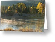 Snake River Sunrise Greeting Card