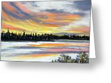 Snake River Sunset Greeting Card