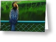 Snakebird Greeting Card