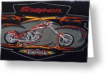 Snap-on Chopper Greeting Card