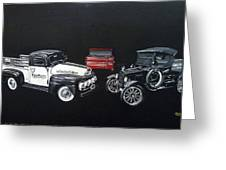 Snap-on Ford Trucks Greeting Card