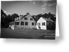 Snee Farm And Charles Pinckney Greeting Card