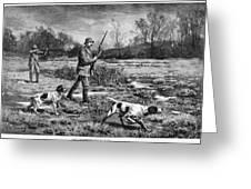 Snipe Hunters, 1886 Greeting Card