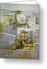 Sniper Military Tribute Greeting Card