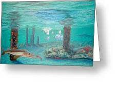 Snook Painting Greeting Card