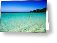 Snorkeling At Karon Beach Greeting Card
