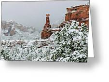 Snow 06-027 Greeting Card