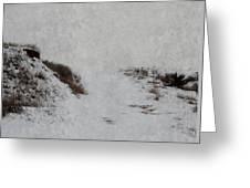 Snow Blind Greeting Card