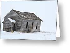 Snow Bound Greeting Card