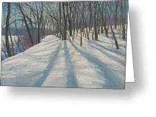 Snow Day At Winnekini Greeting Card