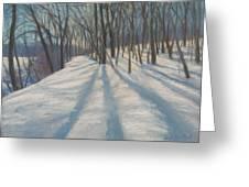 Snow Day At Winnekini Greeting Card