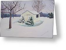 Snow Drifts Greeting Card