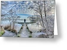 Snow Fantasy Greeting Card