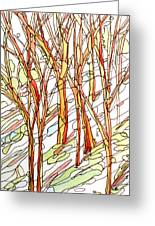 Snow Forest #1 Greeting Card