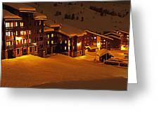 Snow Glow Greeting Card