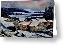 Snow In Ardennes 79 Greeting Card