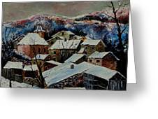 Snow In Laforet 78 Greeting Card