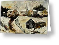 Snow In Sensenruth Greeting Card