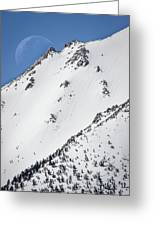 Snow Moon Greeting Card