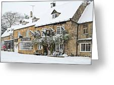 Snow On The Wold Greeting Card