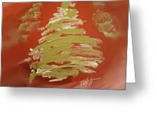 Snow Pines Greeting Card