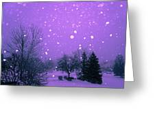 Snow Song Greeting Card