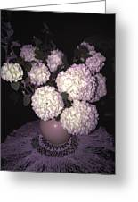 Snowball Bouquet Greeting Card