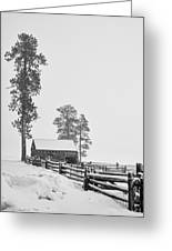Snowbound Greeting Card