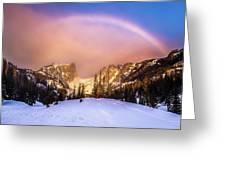 Snowbow Greeting Card
