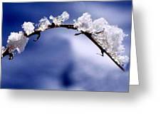 Snowbridge #5 Greeting Card